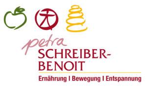 copyright: Petra Schreiber-Benoit Logo Ernährung, Bewegung, Entspannung